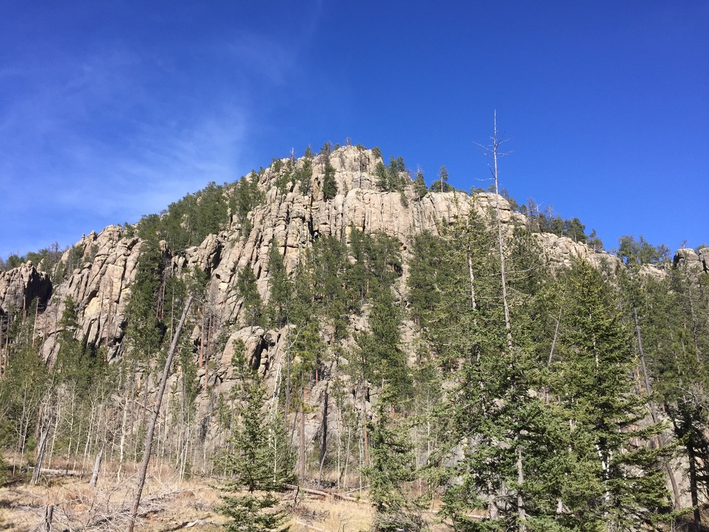 Norbeck Trail in Custer State Park
