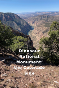This is the second half of the two-part series, on the blog, about Dinosaur National Monument