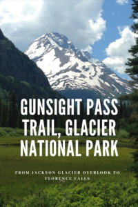 Everything you need to know about the early portion of the Gunsight Pass Trail, starting from the Jackson Glacier Overlook, at Glacier National Park!