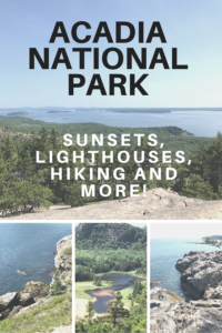 Planning a visit to Acadia National Park? Read on for all the things you don't want to miss (sunrise and sunset sites, hiking trails and lighthouses)!