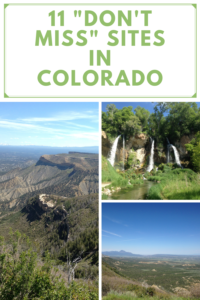 """Looking for some incredible places to visit in western Colorado? Click here for 11 """"don't miss"""" places to put on your road trip list!"""