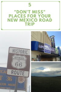 New Mexico is a great place for a road trip! Read on for 5 places you don't want to miss, including the International UFO Museum and an extinct volcano!