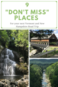 """Are you planning a road trip through Vermont and New Hampshire? Read on for several """"don't miss"""" places during your trek through northern New England."""