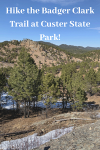 If you enjoy a scenic hiking trail where you'll see more animals than people, check out the Badger Clark Trail in Custer State Park in the Black Hills!