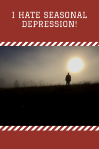Do you struggle with SAD (Seasonal Affective Disorder) during the dark days of winter? Read on for my personal experience with this condition.