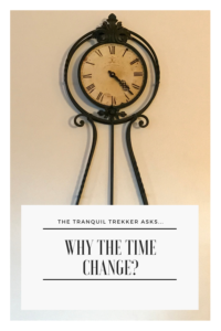 Ever wonder why we change our clocks twice a year? Read on for an explanation, and how it affects my personal struggle with SAD (Seasonal Depression).