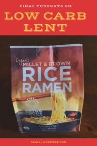 """Want to know what it's really like to going low-carb""""? In this post I discuss what I learned after my six week experiment during Lent."""