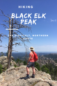 Read on for details of our numerous attempts to conquer Trail #9, the difficult, northern route up Black Elk Peak, in the Black Hills.