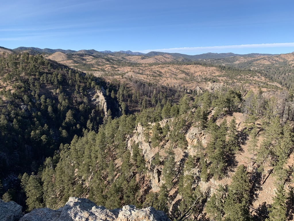 Lover's Leap Trail, Custer State Park