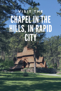 Looking for a unique place to visit, right in Rapid City? Check out the Chapel in the Hills, a replica of a Norwegian stave church!