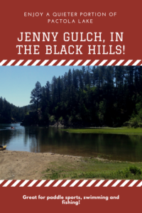 Looking for a beautiful place to go canoeing, kayaking or paddle boarding in the Black Hills? Check out Jenny Gulch, which is part of Pactola Lake!