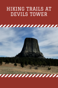 Looking for some great hiking trails and a place shrouded in legend? Check out Devils Tower, a unique rock formation in eastern Wyoming.