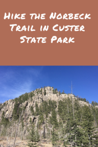 Looking for a quieter day hike near Custer State Park? Check out the Norbeck Trail, which is located in the Black Elk Wilderness.