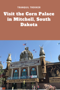 Are you looking for a unique place to visit in in eastern South Dakota, in the small town of Mitchell? Check out the Corn Palace!