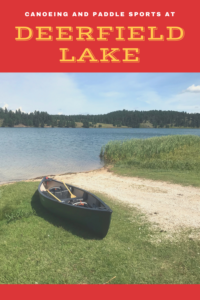 Looking for one of the best canoeing sites in the Black Hills? Read on for my review of Deerfield Lake, in Western South Dakota.