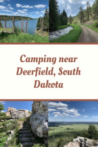 Looking for a quieter place to camp not far from Deerfield Lake? Check out the Castle Peak campground and some local fire tower remains for additional fun!