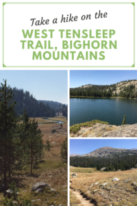 The West Tensleep trail is a great day hike in the Bighorn National Forest, in Wyoming. Read on for a review of this beautiful trek.
