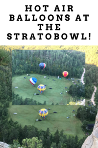 Are you looking for a place to see hot air balloons in the Black Hills? Click here for a historical site that offers a launch every year!
