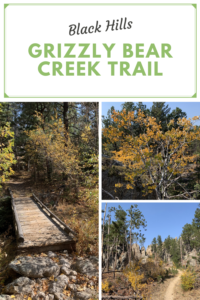Are you looking for a beautiful hike in the Black HIlls that is also lightly traveled? Check out the Grizzly Bear Creek Trail!