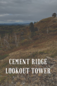 Looking for a great place to view the northern Black Hills that almost anyone can reach? Check out the Cement Ridge Lookout Tower in Wyoming!