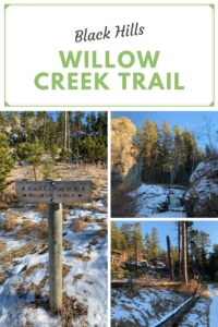 Looking for a fun trail, that is accessible and is a great way to enjoy the beauty of the Black Hills? Check out the Willow Creek Trail!