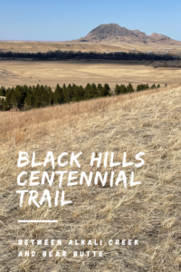 For an easier, yet still scenic portion of the Black Hills Centennial Trail, hike the Alkali Creek to Bear Butte section (which includes Fort Meade)!