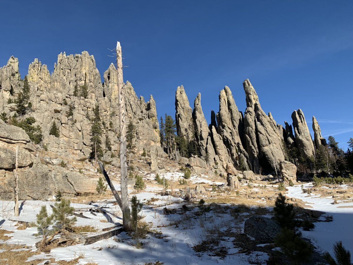Little Devils Tower, Cathedral Spires and Needles Highway Loop