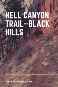 Hell Canyon is a lightly-trafficked, moderately-difficult hike that includes many unique ecosystems found in the Black Hills!