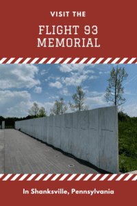 September 11th was seared into the mind of all Americans. Read on for my experience at the Flight 93 Memorial that commemorates that day.