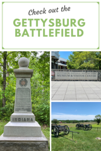 Want to learn more about one of the most important battles of the American Civil War? Check out these cool places at the Gettysburg Battlefield!