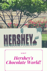 Do you like chocolate? Do you want to learn how it's made? Visit Hershey's Chocolate World in Hershey, Pennsylvania!