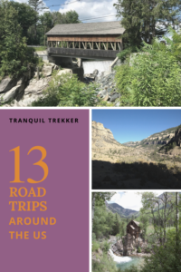 Here is a listing of the many road trips the Trekkers have taken around the US